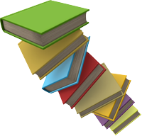 image of a pile of books