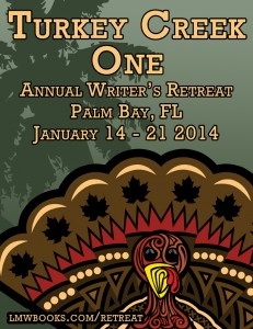 My first writers retreat!