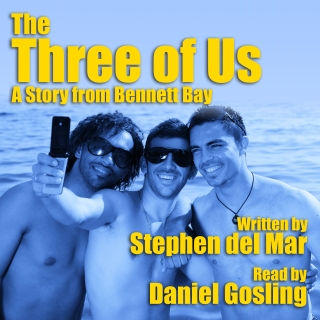three of us audio cover 02 with Daniel Gosling
