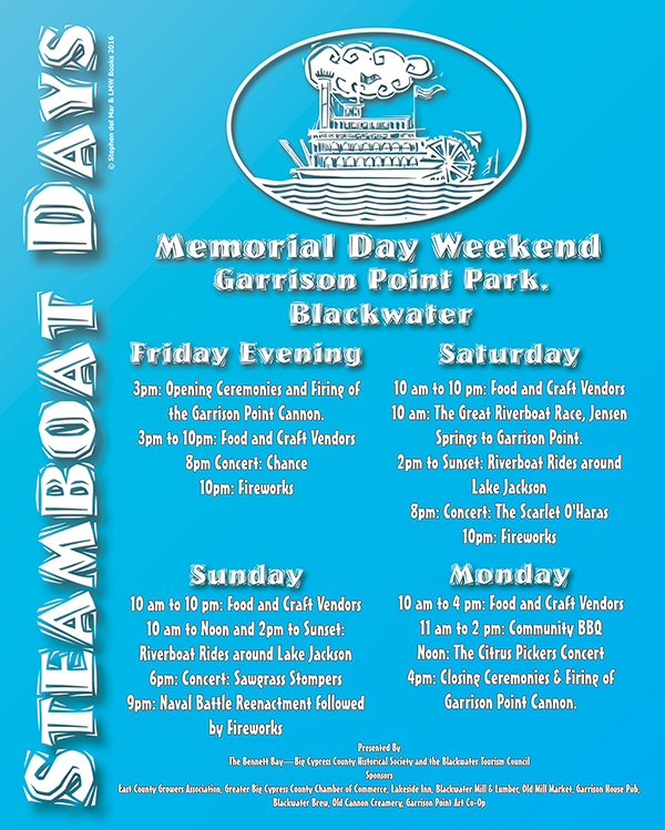 Steamboat Days POSTER 01b med